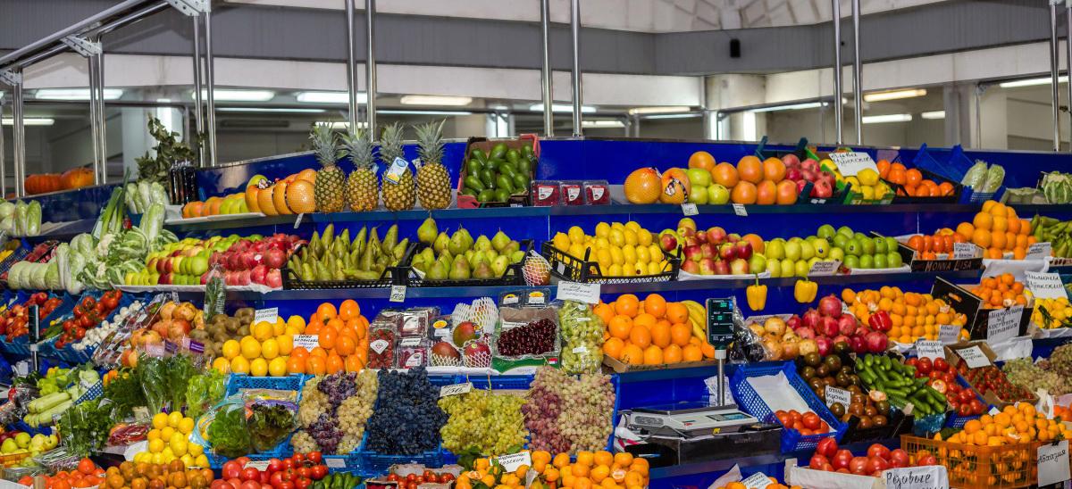 Овощные развалы